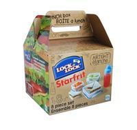 Dóza na potraviny a láhev LOCK Sandwich box s...
