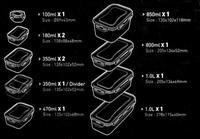 Dóza na potraviny Lock- set 11 ks
