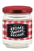 Zavařovací sklenice s víčkem CERVE 200ml Sweet Home