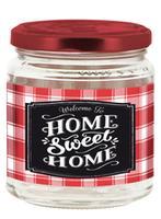 Zavařovací sklenice s víčkem CERVE 300ml Sweet Home