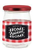 Zavařovací sklenice s víčkem CERVE 500ml Sweet Home