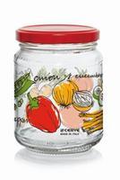 Zavařovací sklenice s víčkem CERVE 200ml zelenina