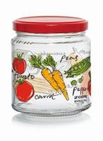 Zavařovací sklenice s víčkem CERVE 300ml zelenina