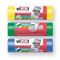 Pytle na odpad 60l VIGO set 3x10ks