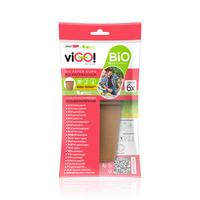 BIO papírový kelímek VIGO! 6ks 250ml hnědý