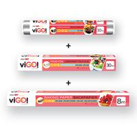 Set ViGO!alobal + pečící papír + potravinová fólie