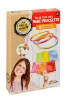 Kreativní sada náramek z písku, 6x náramek + 12x písek