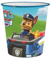 Dětský plastový odpadkový koš 5l Paw Patrol