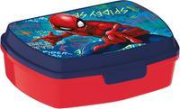 Plastový svačinový box Spiderman 17,5x14,5x6,5cm