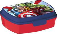 Plastový svačinový box Avengers 17,5x14,5x6,5cm