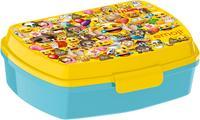 """SVAČINOVÝ BOX """"EMOJI"""", 17,5X14,5X6,5 CM, PLAST"""