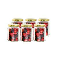 Zavařovací sklenice s víčkem TORO 278ml 6ks