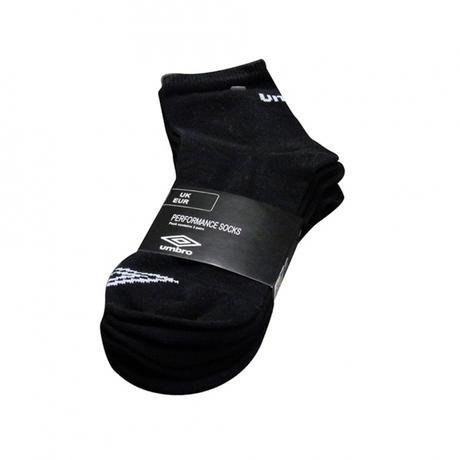 UMBRO Sportovní ponožky Umbro 3 páry, černé, 43-46