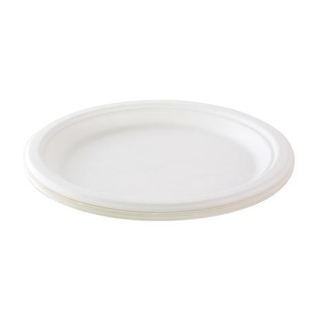 BIO talíř TORO 23cm cukrová třtina 12ks
