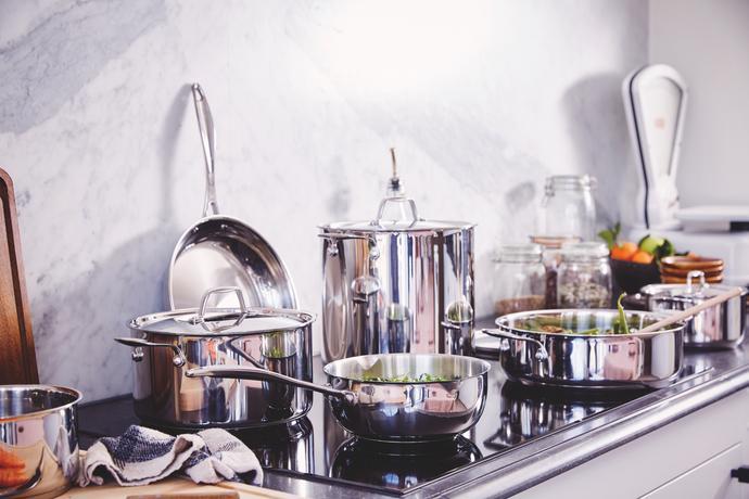 Nerezový kastrol s poklicí BEKA Chef 18cm 2,4...