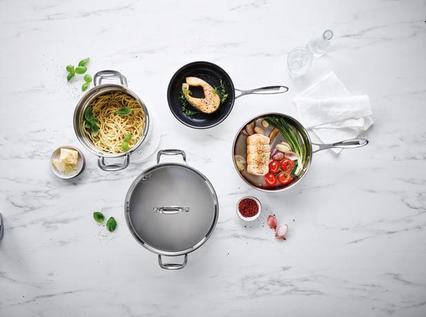 Nerezový kastrol s poklicí BEKA Chef 20cm 3,3...