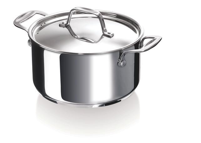 Nerezový kastrol s poklicí BEKA Chef 24cm 5l