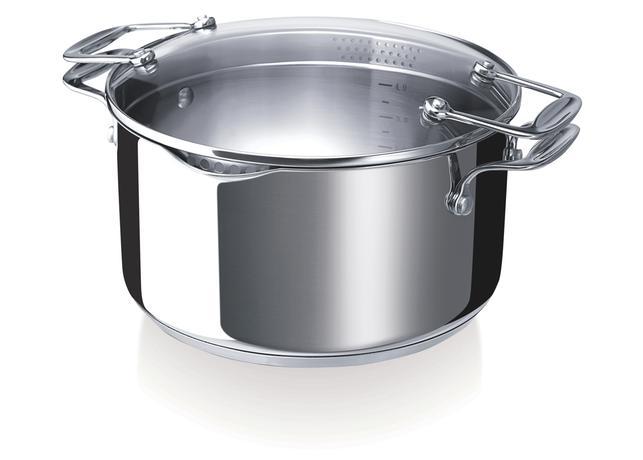 Nerezový kastrol s poklicí se sítky BEKA Chef...