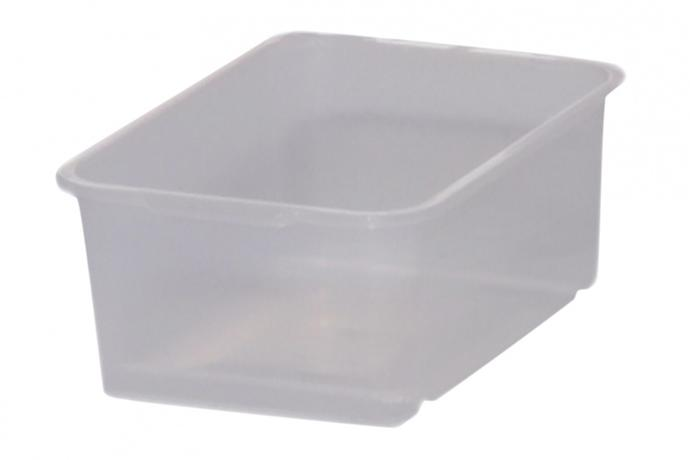 Box úložný 4 l, plast,  transparentní