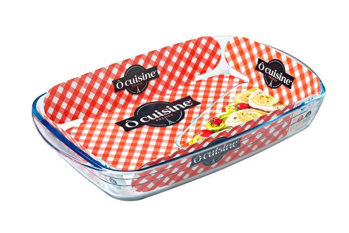 Skleněný pekáč OCUISINE 32x20cm/2l., borosili...