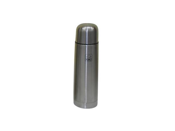 Nerezová termoska TORO 0,5l stop ventil