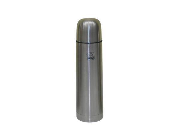Nerezová termoska TORO 0,7l stop ventil