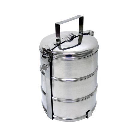 Nerezový jídlonosič TORO 3x800ml