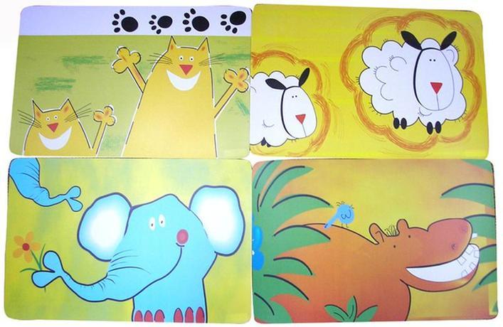 """TORO Prostírání """"Zvířátka"""", 28 x 43 cm"""
