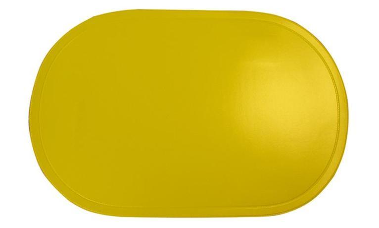 TORO Prostírání ovál žluté, 29 x 44 cm