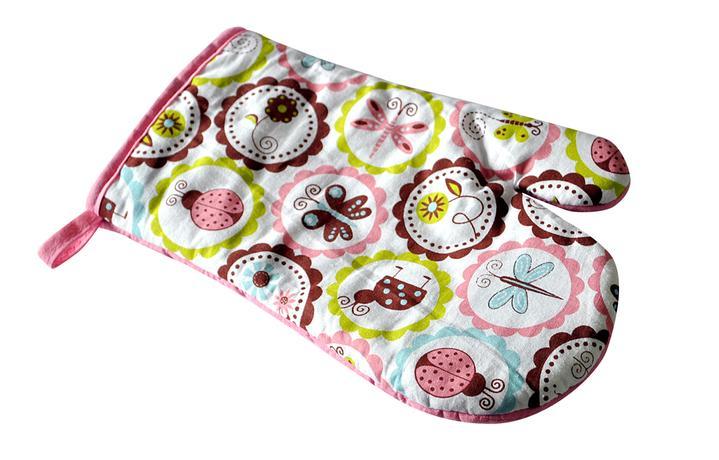 Kuchyňská chňapka- rukavice, 4 designy