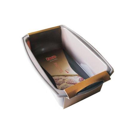 TORO Forma bochníková silikon, šedo-hnědá