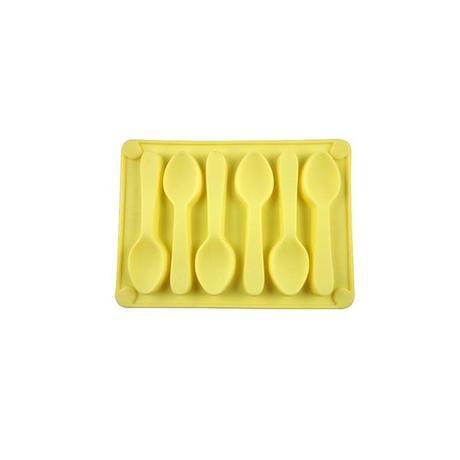 Forma silikonová na led/čokoládu,tvar lžička,...