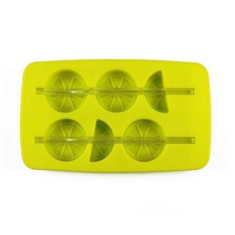 TORO Forma silikon na led s brčkem, citrón, zelená/ bílá
