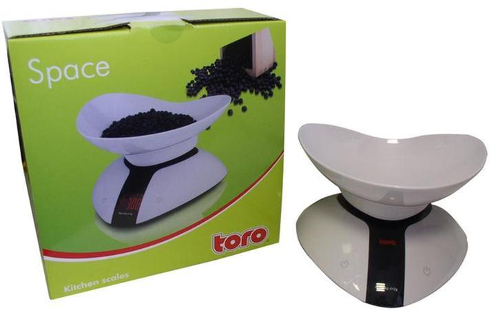 TORO váha kuchyňská do 5ti kg 19 x 19 x 6,8 cm
