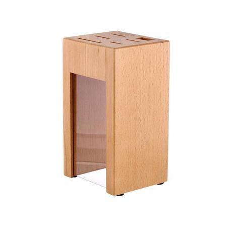 Blok na nože, bukové dřevo