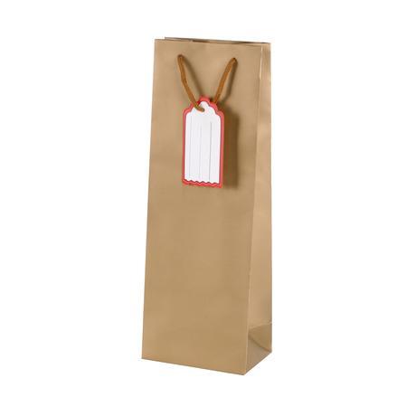 Papírová dárková taška s visačkou TORO 36x12c...