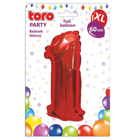 Balónek fóliový TORO XL číslice
