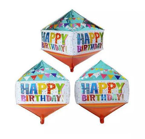 Balónek fóliový TORO Happy Birthday