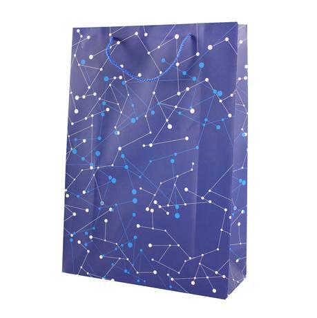Taška dárková, papír, velká, assort 3 barev
