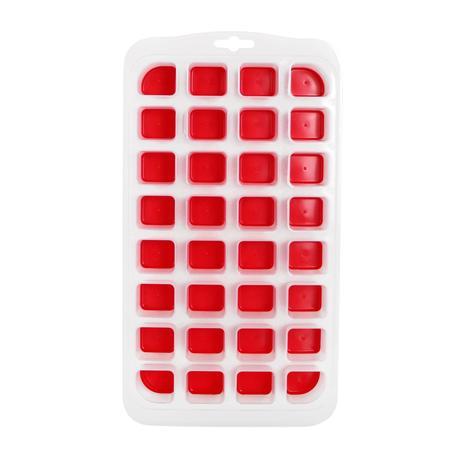 Tvořítko na LED Jumbo, 32 kostek, červená