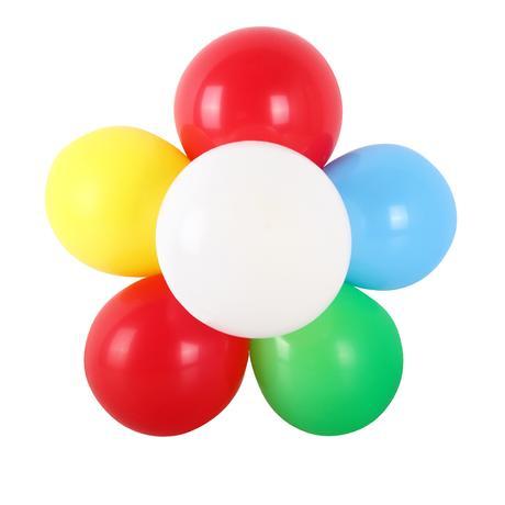Plastový držák na balónky TORO 6,5 cm, 10ks