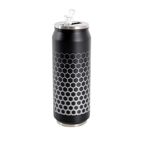 Nerezový termohrnek s pítkem TORO plechovka, ...