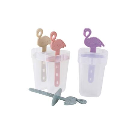 Plastové tvořítko na zmrzlinu TORO plameňák 4...