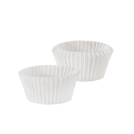 Papírové košíčky na muffiny TORO 60ks bílé