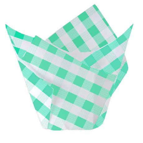 Papírové tulipánové košíčky na muffiny TORO 2...