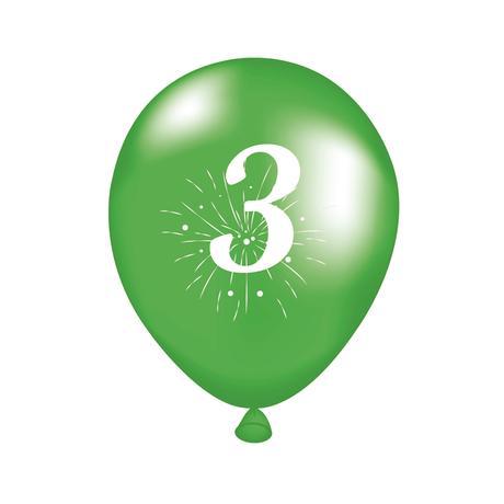 Balónek s potiskem 3 TORO 5ks