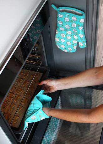 Kuchyňská chňapka TORO tyrkys