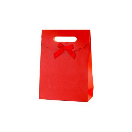 Papírová uzavíratelná dárková taška TORO 50x4...