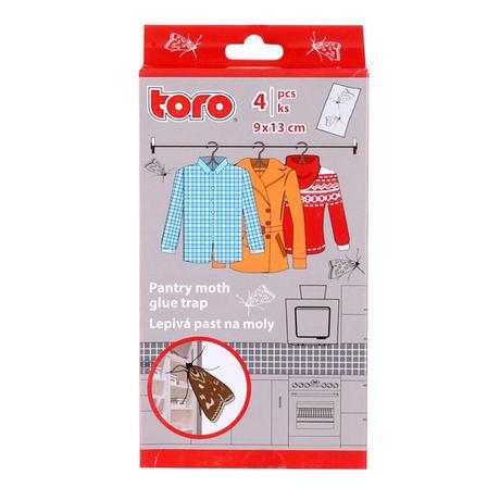 Lepivá past na moly TORO 4ks