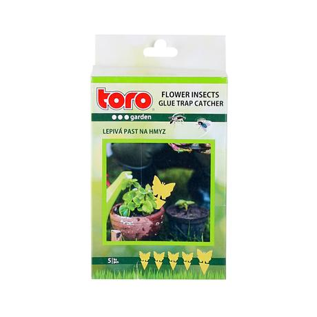 Lepivá past na hmyz TORO kytka 5ks